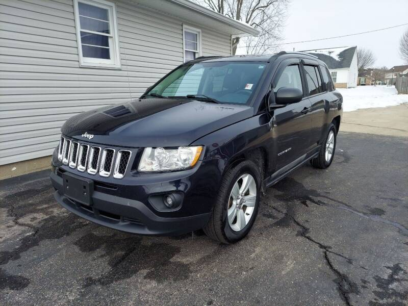 2011 Jeep Compass for sale at CALDERONE CAR & TRUCK in Whiteland IN
