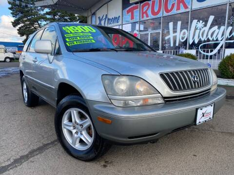 2000 Lexus RX 300 for sale at Xtreme Truck Sales in Woodburn OR