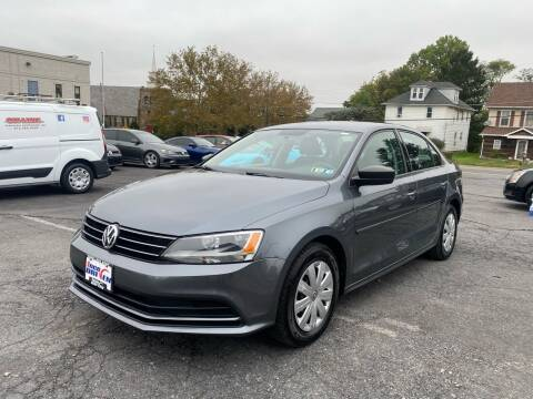 2015 Volkswagen Jetta for sale at 1NCE DRIVEN in Easton PA