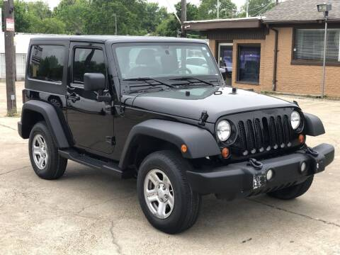 2013 Jeep Wrangler for sale at Safeen Motors in Garland TX
