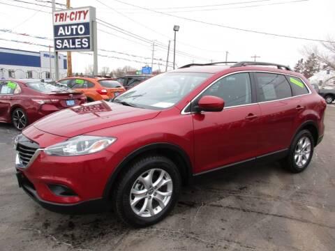 2015 Mazda CX-9 for sale at TRI CITY AUTO SALES LLC in Menasha WI