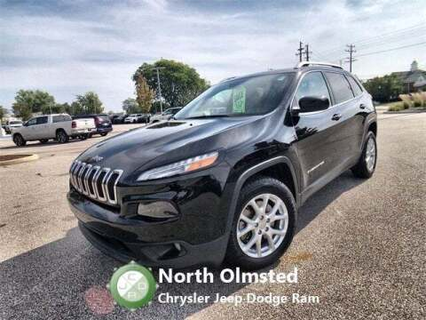 2017 Jeep Cherokee for sale at North Olmsted Chrysler Jeep Dodge Ram in North Olmsted OH