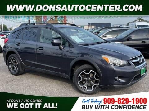 2013 Subaru XV Crosstrek for sale at Dons Auto Center in Fontana CA