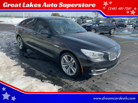 2011 BMW 5 Series for sale at Great Lakes Auto Superstore in Pontiac MI