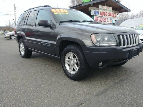 2004 Jeep Grand Cherokee for sale at Low Auto Sales in Sedro Woolley WA