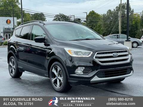 2017 Ford Escape for sale at Ole Ben Franklin Motors Clinton Highway in Knoxville TN