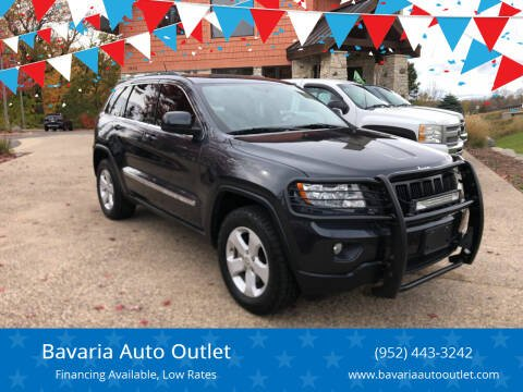 2012 Jeep Grand Cherokee for sale at Bavaria Auto Outlet in Victoria MN