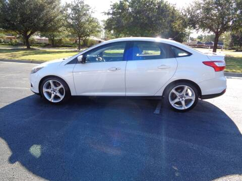 2012 Ford Focus for sale at BALKCUM AUTO INC in Wilmington NC