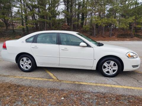 2008 Chevrolet Impala for sale at WIGGLES AUTO SALES INC in Mableton GA