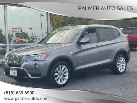 2014 BMW X3 for sale at Palmer Auto Sales in Menands NY