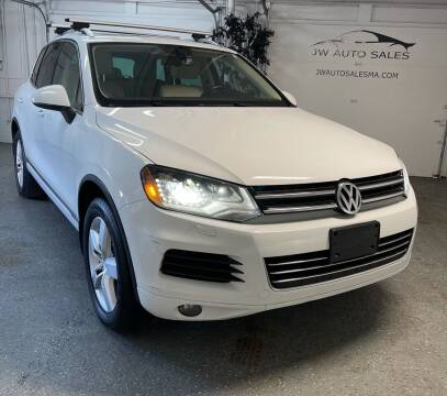 2012 Volkswagen Touareg for sale at Mass Auto Exchange in Framingham MA