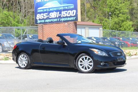 2013 Infiniti G37 Convertible for sale at Skyline Motors in Louisville TN