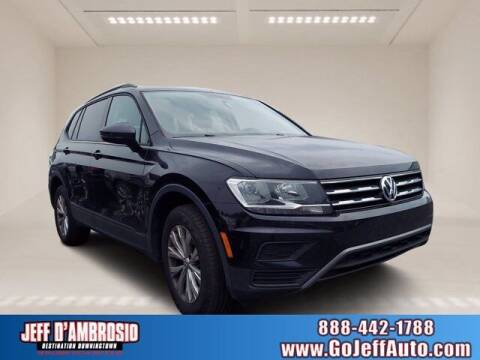 2018 Volkswagen Tiguan for sale at Jeff D'Ambrosio Auto Group in Downingtown PA