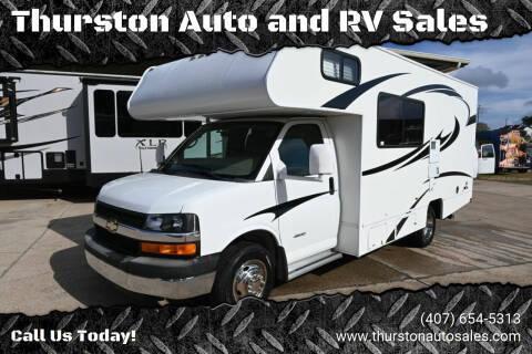 2012 Coachmen Freelander 21QB for sale at Thurston Auto and RV Sales in Clermont FL
