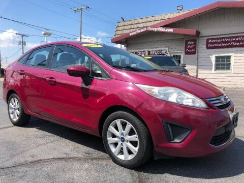 2011 Ford Fiesta for sale at The Auto Store in Griffith IN