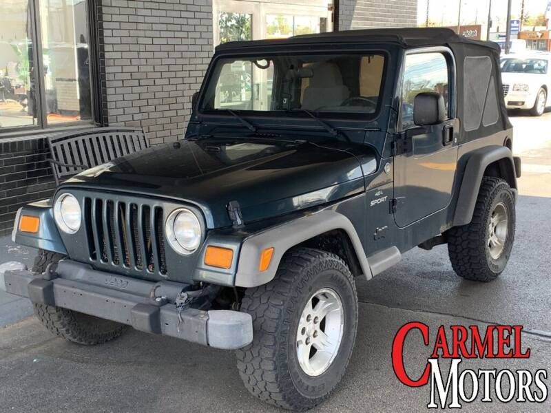 2005 Jeep Wrangler for sale at Carmel Motors in Indianapolis IN