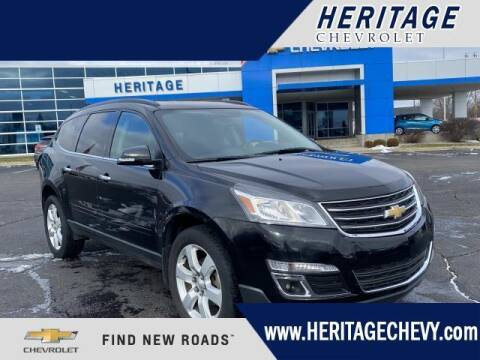 2017 Chevrolet Traverse for sale at HERITAGE CHEVROLET INC in Creek MI