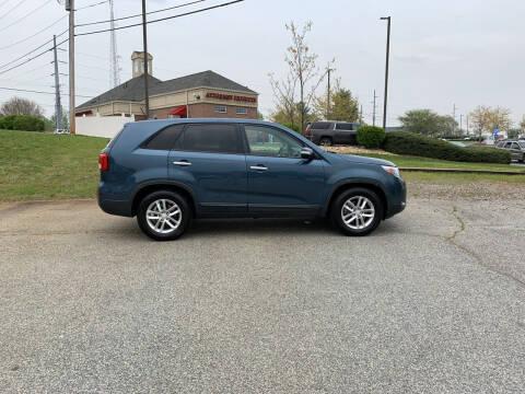 2014 Kia Sorento for sale at Bill Henderson Auto Group Inc in Statesville NC