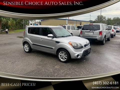 2012 Kia Soul for sale at Sensible Choice Auto Sales, Inc. in Longwood FL