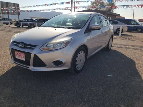 2014 Ford Focus for sale at Bickham Used Cars in Alamogordo NM