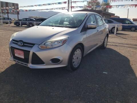 2014 Ford Focus for sale at Bickham Used Cars in Alamogordo NM
