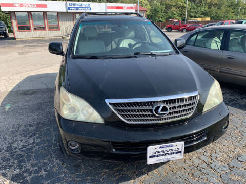 2006 Lexus RX 400h for sale at SPRINGFIELD PRE-OWNED in Springfield IL