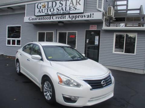 2015 Nissan Altima for sale at Gold Star Auto Sales in Johnston RI