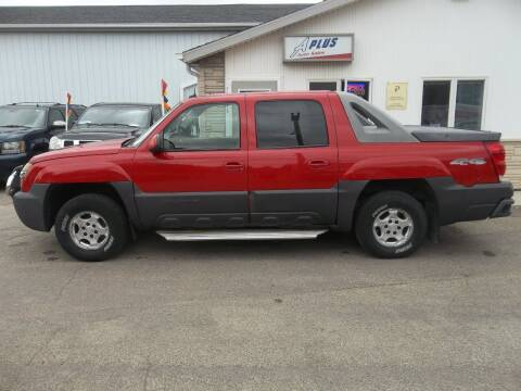 2003 Chevrolet Avalanche for sale at A Plus Auto Sales/ - A Plus Auto Sales in Sioux Falls SD