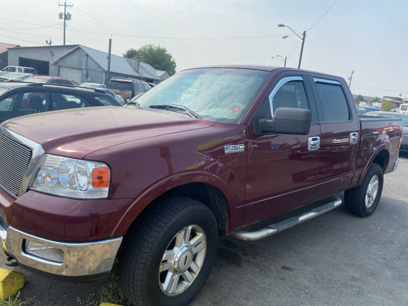 2004 Ford F-150 for sale at Cliff's Qualty Auto Sales in Spokane WA