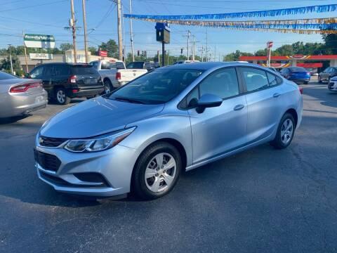 2018 Chevrolet Cruze for sale at Brucken Motors in Evansville IN
