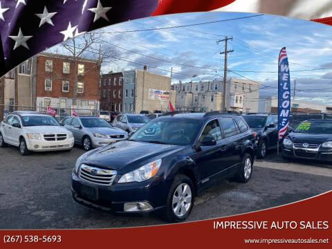 2012 Subaru Outback for sale at Impressive Auto Sales in Philadelphia PA
