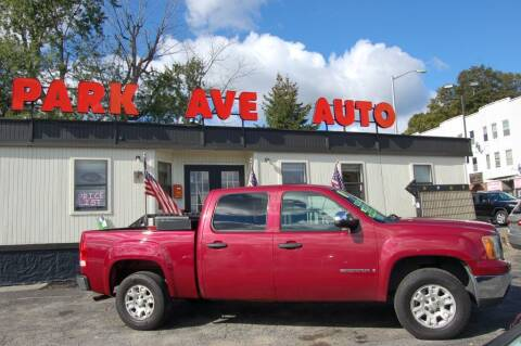 2007 GMC Sierra 1500 for sale at Park Ave Auto Inc. in Worcester MA