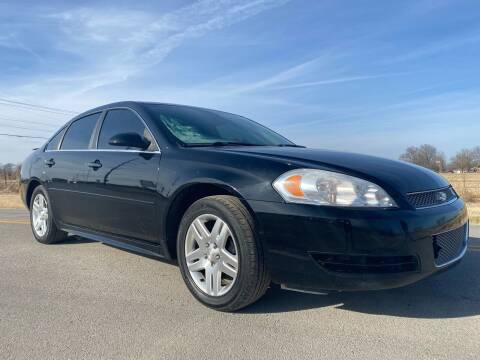 2012 Chevrolet Impala for sale at ILUVCHEAPCARS.COM in Tulsa OK