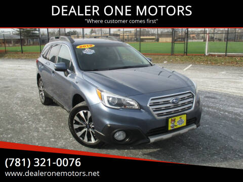 2015 Subaru Outback for sale at DEALER ONE MOTORS in Malden MA