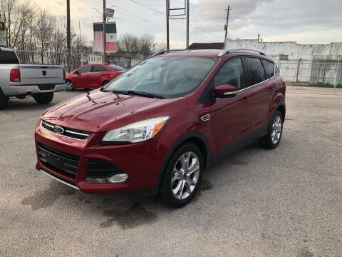 2015 Ford Escape for sale at Saipan Auto Sales in Houston TX