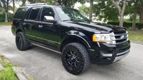 2017 Ford Expedition for sale at DELRAY AUTO MALL in Delray Beach FL