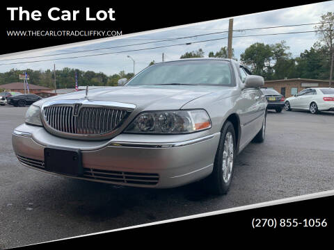 2007 Lincoln Town Car for sale at The Car Lot in Radcliff KY