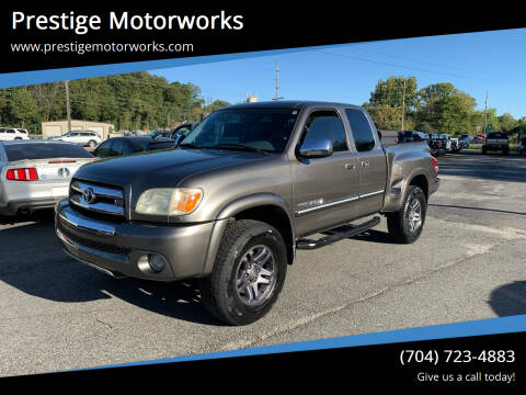 2005 Toyota Tundra for sale at Prestige Motorworks in Concord NC