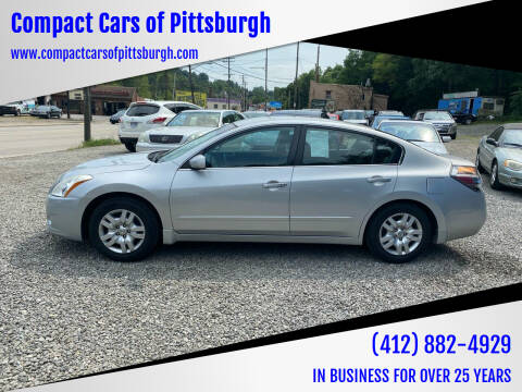 2010 Nissan Altima for sale at Compact Cars of Pittsburgh in Pittsburgh PA
