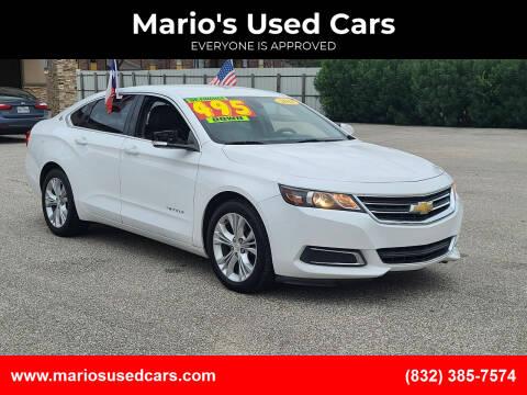 2014 Chevrolet Impala for sale at Mario's Used Cars - Pasadena Location in Pasadena TX