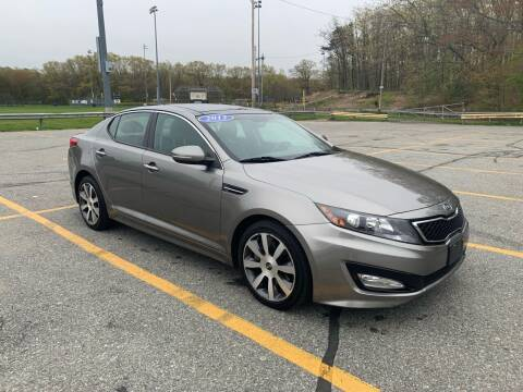 2012 Kia Optima for sale at Fournier Auto and Truck Sales in Rehoboth MA