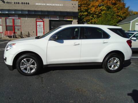 2012 Chevrolet Equinox for sale at Gemini Auto Sales in Providence RI
