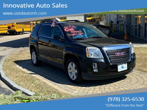 2013 GMC Terrain for sale at Innovative Auto Sales in North Hampton NH