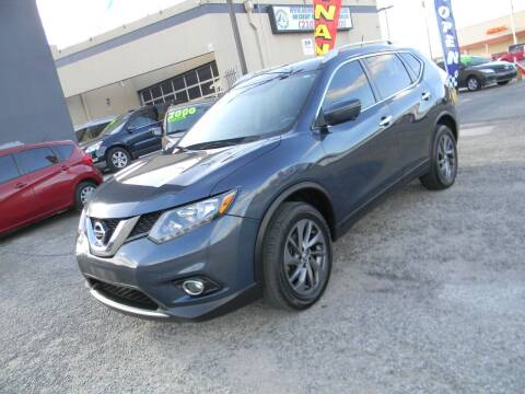 2016 Nissan Rogue for sale at Meridian Auto Sales in San Antonio TX