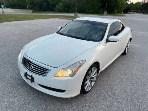 2010 Infiniti G37 Convertible for sale at Central Motor Company in Austin TX