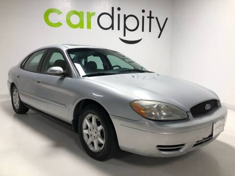 2007 Ford Taurus for sale at Cardipity in Dallas TX