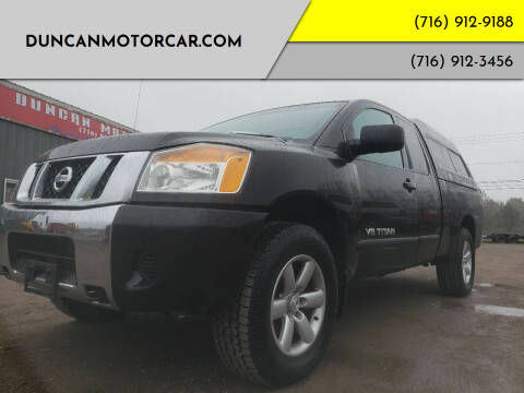 2008 Nissan Titan for sale at DuncanMotorcar.com in Buffalo NY