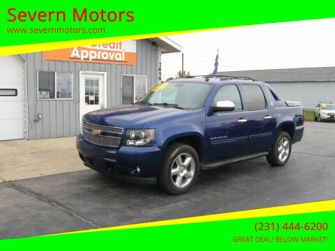 2013 Chevrolet Avalanche for sale at Severn Motors in Cadillac MI