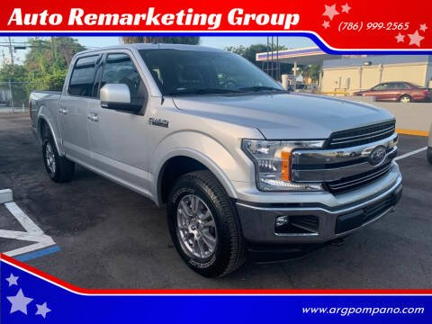 2018 Ford F-150 for sale at Auto Remarketing Group in Pompano Beach FL