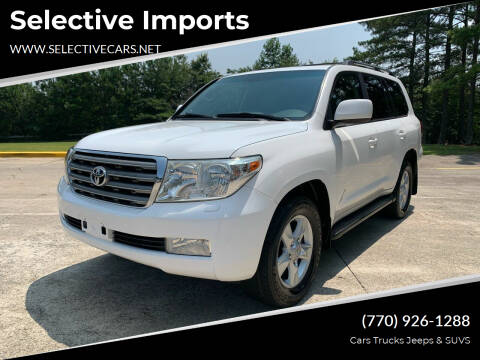 2011 Toyota Land Cruiser for sale at Selective Imports in Woodstock GA
